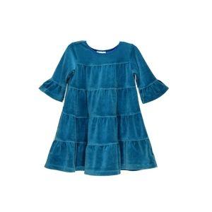 Hanna Andersson | Velvet Ruffle Twirl Dress